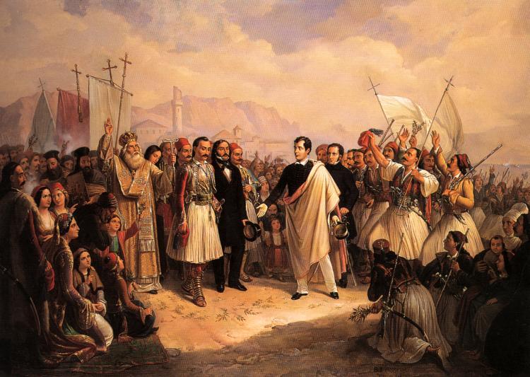 Lord Byron at Missolonghi - Vis Travel