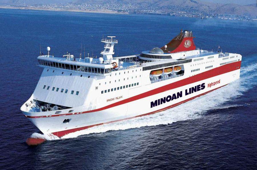 minoan lines ship knossos palace - Vis Travel